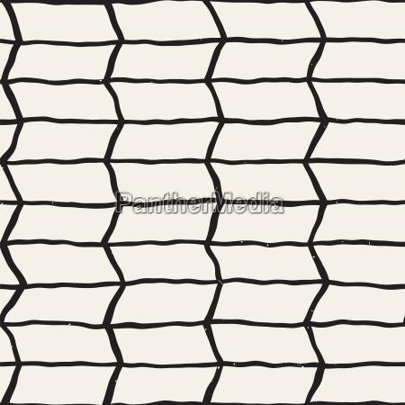 seamless pattern with hand drawn brush