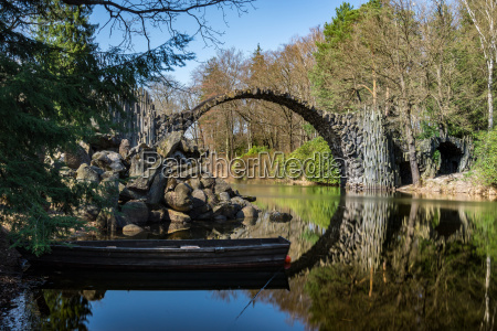 rakotz bridge kromlau saxony germany
