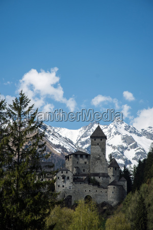 castle taufers south tyrol italy