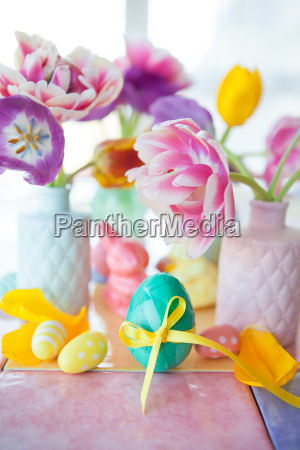colorful decoration for easter