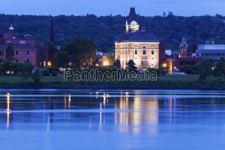 city hall by saint john river