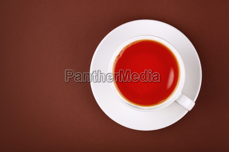 full white cup of red black