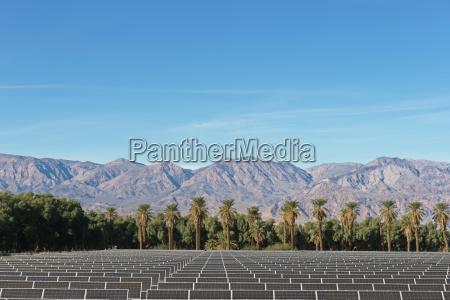 solar farm at death valley