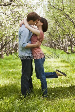 usa utah provo young couple kissing