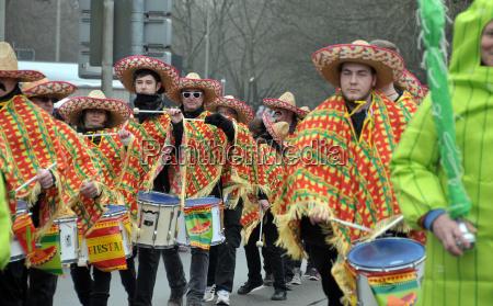 carnival parade in hanover 2018
