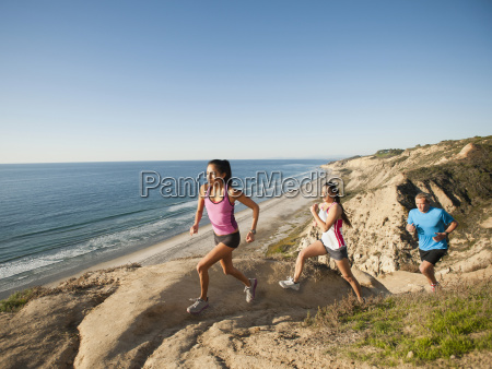 usa california san diego three people