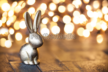 little golden rabbit