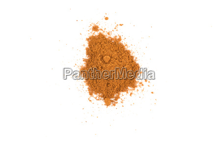 cinnamon powder closeup