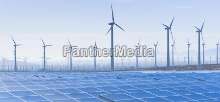 usa california palm springs wind farm