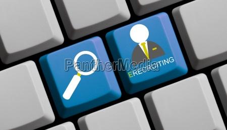 e recruiting search for staff