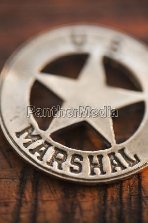 close up of united states marshal
