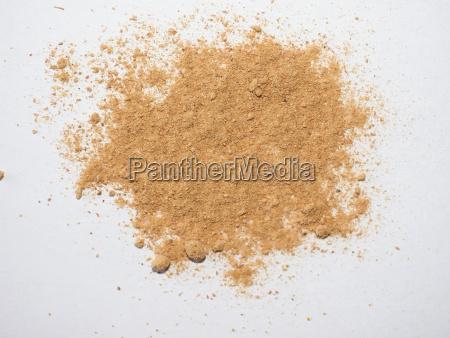 ginger zingiber officinale powder