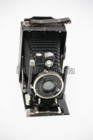 old plan film camera as decoration