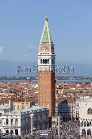 st marks campanile and gothic doges