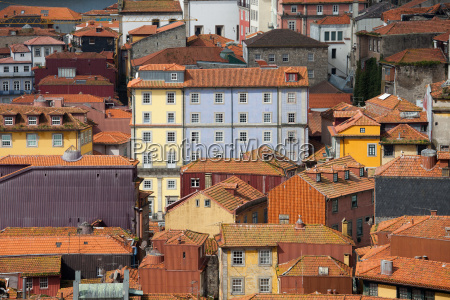 houses in the old town of