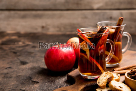 hot spicy beverage hot drink apple