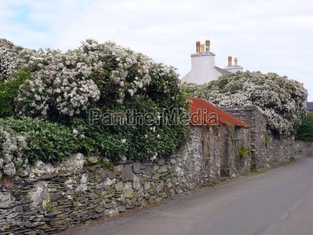 historic village cregneash on the isle