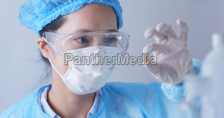 woman scientist working in laboratory