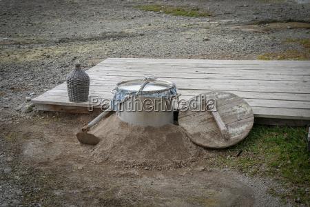 geothermal cooking at fumarolas da lagoa