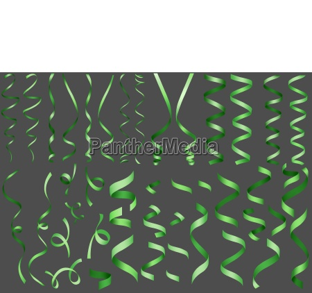 green confetti collection