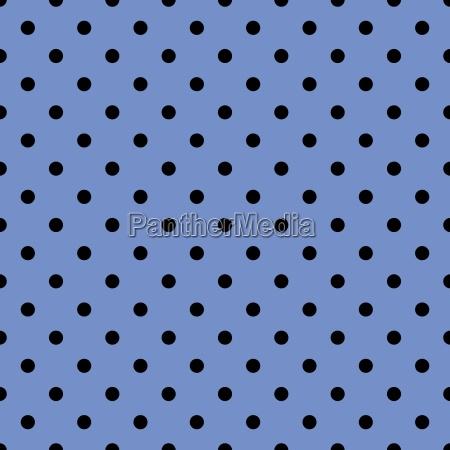 tile vector pattern with black polka