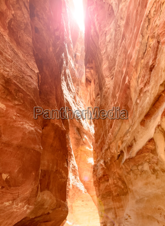 siq canyon which goes to the