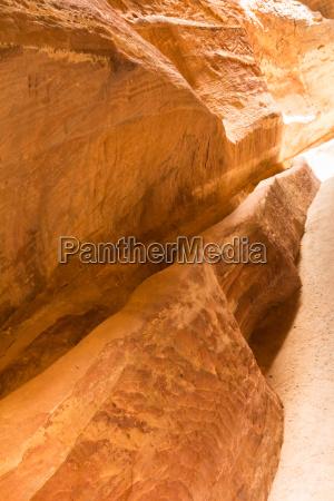 siq canyon petra