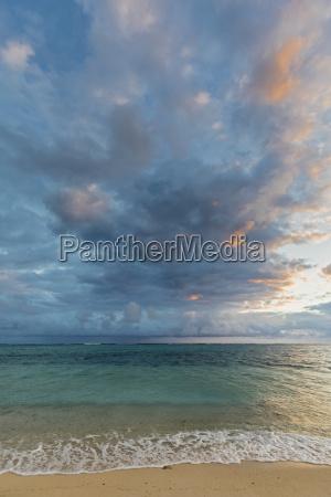 mauritius southwest coast indian ocean beach