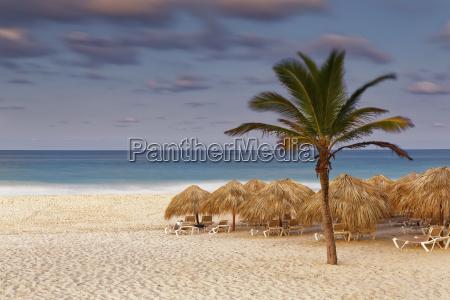 carribean dominican republic punta cana playa