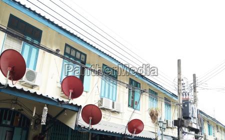 thailand bangkok pastel colors building details
