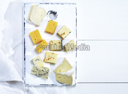 brie cheese roquefort camembert cheddar and