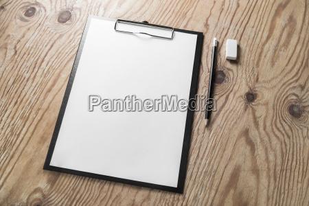 letterhead pencil eraser