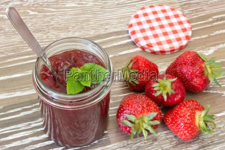 strawberry, jam - 24175322