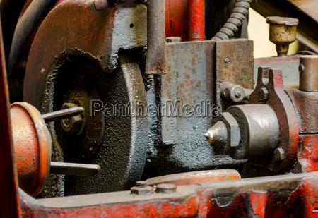 vintage antique automotive machine shop dirty