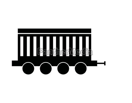 mine trolley icon