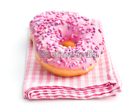 pink sweet donut