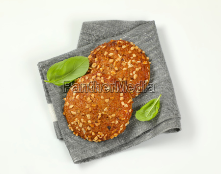 cookies with chopped nuts and almonds