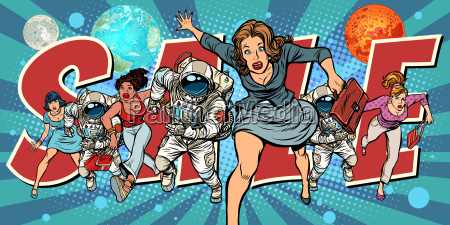 women and astronauts running for sale