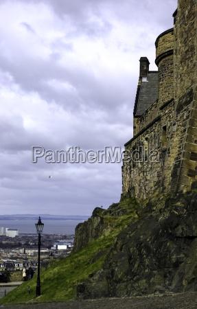 edinburgh castle edinburgh united kingdom