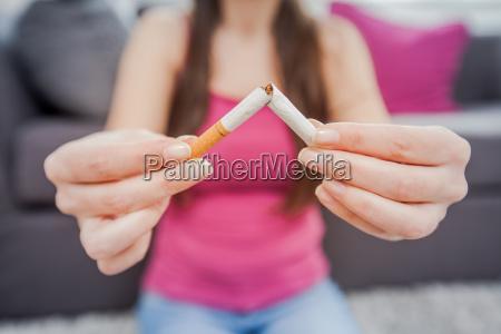 non smoking healthy lifestyle
