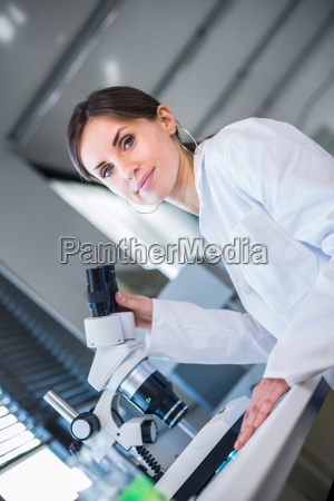 portrait of a female chemistry studentscientist