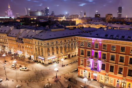 city of warsaw in poland by