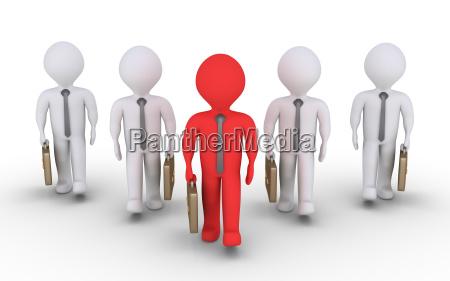 one leader of businessmen