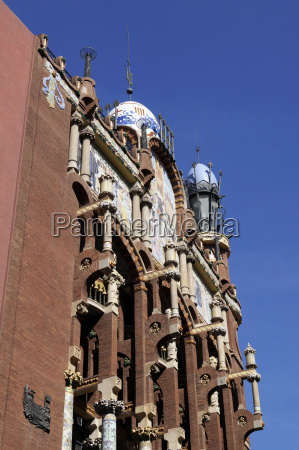 palace of catalan music in barcelona