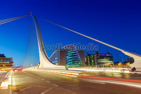 dublin ireland samuel beckett bridge bridge