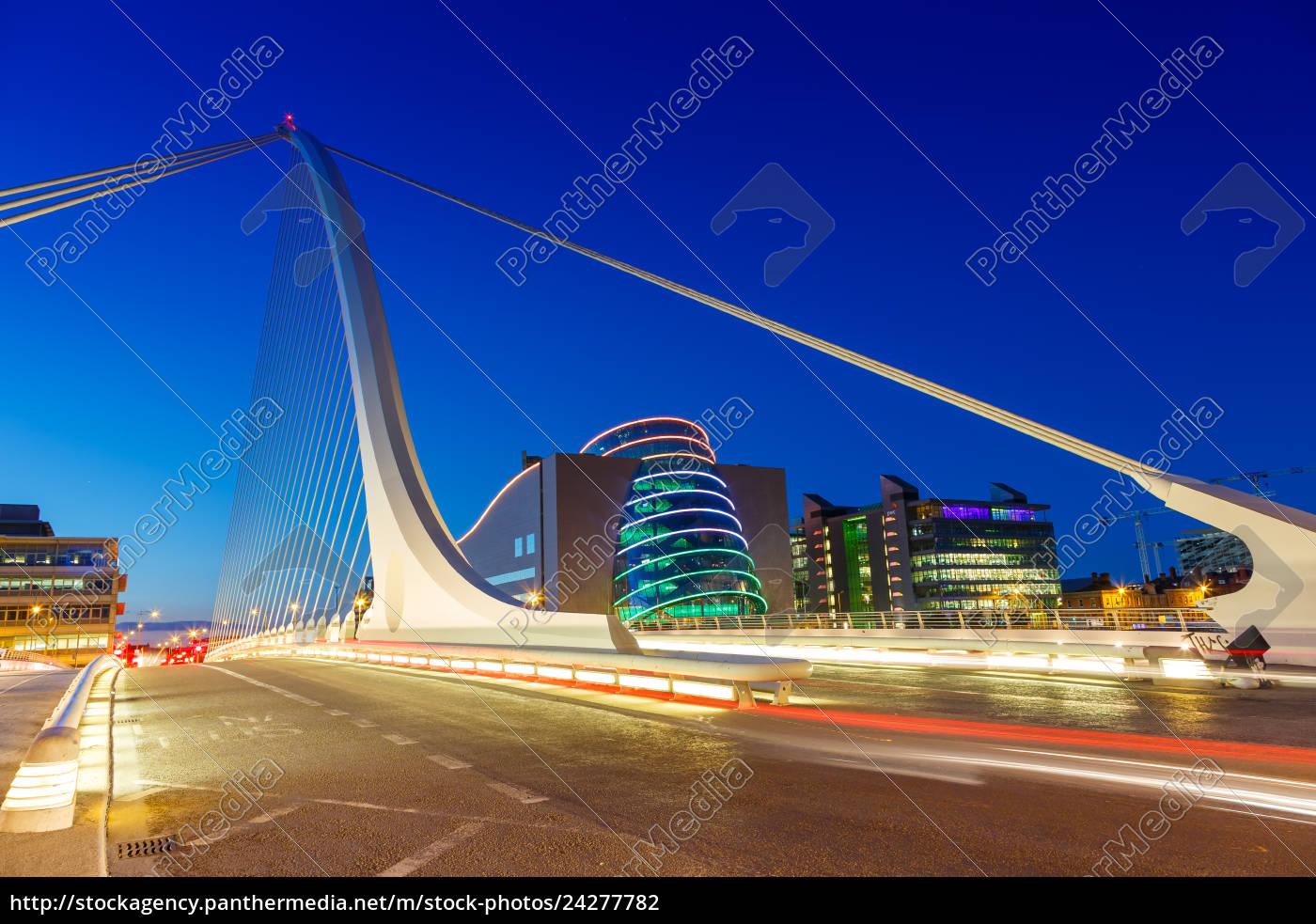 dublin, ireland, samuel, beckett, bridge, bridge - 24277782