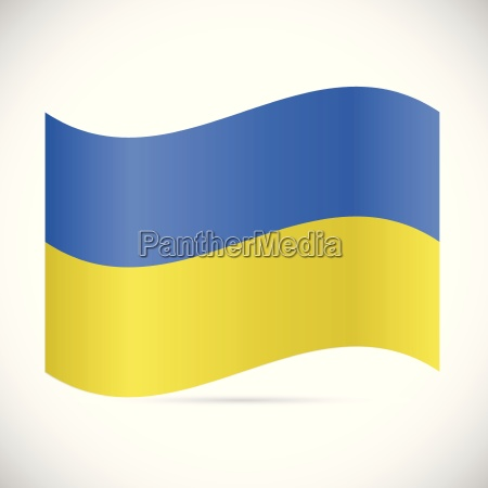 ukraine flag illustration
