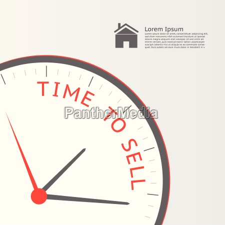 time to sell illustration