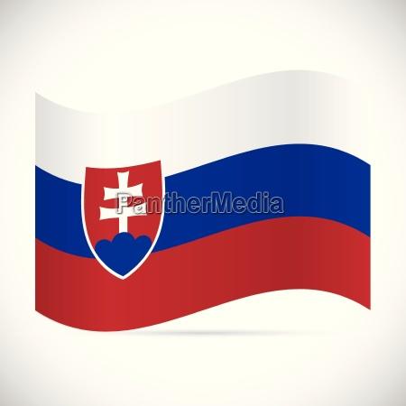 slovakia flag illustration