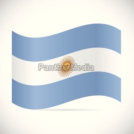 argentina flag illustration